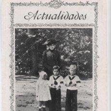 Coleccionismo de Revistas y Periódicos: LA REINA VICTORIA CON EL PRÍNCIPE DE ASTURIAS, INFANTE JAIME E INFANTE BEATRIZ- 1912. Lote 38582195