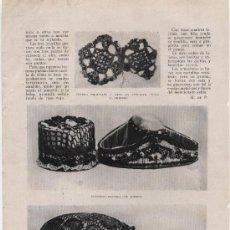 Coleccionismo de Revistas y Periódicos: LABORES DE GANCHILLO - CIRCA 1912. Lote 38615262