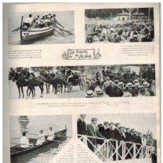 Coleccionismo de Revistas y Periódicos: MUNDIAL AÑO 1922 FIESTAS MALAGA TORO DEL AGUARDIENTE JUGUETES ANTIGUOS SALTO NATACION FEMENINO. Lote 38620017