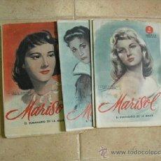 Coleccionismo de Revistas y Periódicos: 8 REVISTAS MARISOL 1956 DE 2 PESETAS,. Lote 38654866