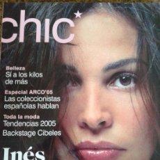 Coleccionismo de Revistas y Periódicos - -- CHIC -- INES SASTRE -- FEBRERO 2005 -- - 38655994