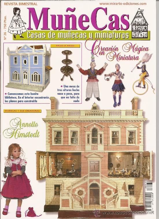 REVISTA MUÑECAS Nº 26. MUÑECAS, CASAS DE MUÑECAS Y MINIATURAS (Coleccionismo - Revistas y Periódicos Modernos (a partir de 1.940) - Otros)