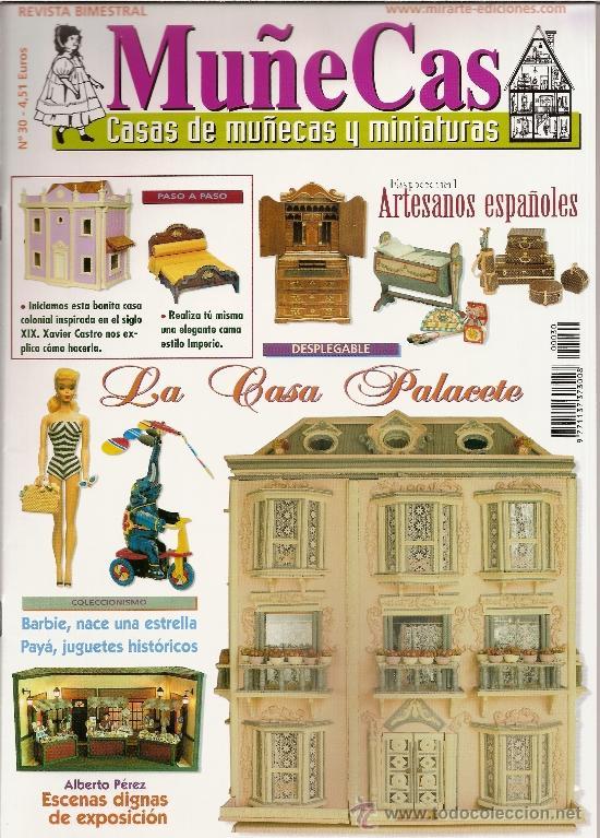 REVISTA MUÑECAS Nº 30. MUÑECAS, CASAS DE MUÑECAS Y MINIATURAS (Coleccionismo - Revistas y Periódicos Modernos (a partir de 1.940) - Otros)
