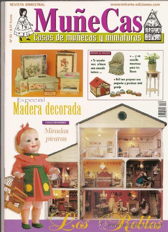 REVISTA MUÑECAS Nº 33. MUÑECAS, CASAS DE MUÑECAS Y MINIATURAS (Coleccionismo - Revistas y Periódicos Modernos (a partir de 1.940) - Otros)