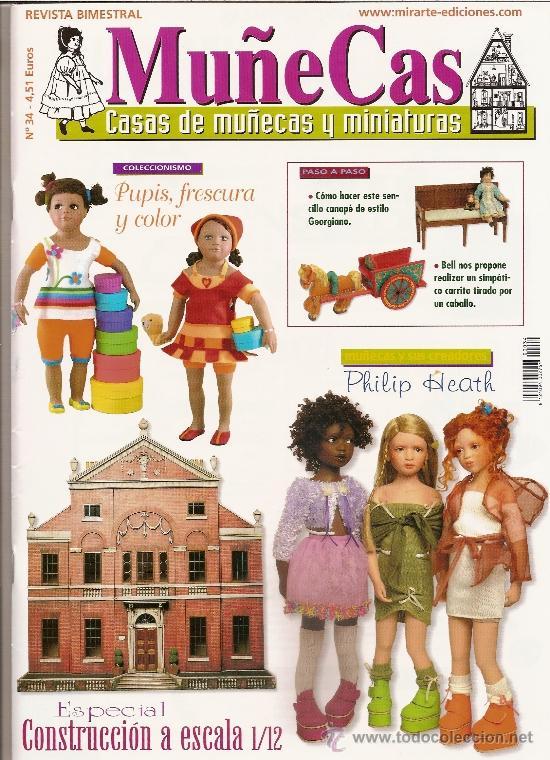 REVISTA MUÑECAS Nº 34. MUÑECAS, CASAS DE MUÑECAS Y MINIATURAS (Coleccionismo - Revistas y Periódicos Modernos (a partir de 1.940) - Otros)