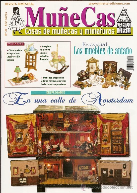 REVISTA MUÑECAS Nº 35. MUÑECAS, CASAS DE MUÑECAS Y MINIATURAS (Coleccionismo - Revistas y Periódicos Modernos (a partir de 1.940) - Otros)