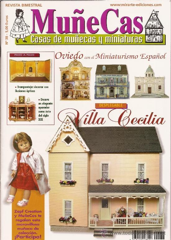 REVISTA MUÑECAS Nº 38. MUÑECAS, CASAS DE MUÑECAS Y MINIATURAS (Coleccionismo - Revistas y Periódicos Modernos (a partir de 1.940) - Otros)