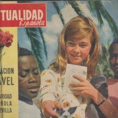 Coleccionismo de Revistas y Periódicos: LA ACTUALIDAD ESPAÑOLA Nº 520. OPERACIÓN CLAVEL,SOLIDARIDAD ESPAÑOLA CON SEVILLA.-. Lote 38677728