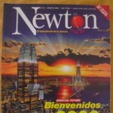 Coleccionismo de Revistas y Periódicos: REVISTA NEWTON, ENERO 2000: ESPECIAL FÚTURO, BIENVENIDOS AL 2000. Lote 38716315