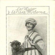 Coleccionismo de Revistas y Periódicos: * MODA * VESTIDO DE GANCHILLO - 1922. Lote 38735123
