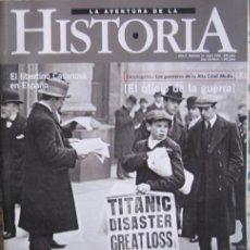 """Coleccionismo de Revistas y Periódicos: REVISTA """"LA AVENTURA DE LA HISTORIA"""" (Nº 18–ABRIL 2000). EL SIGLO DE LA PRENSA. Lote 38735857"""