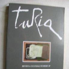 Coleccionismo de Revistas y Periódicos: TURIA. REVISTA CULTURAL Nº 20. 1992. Lote 38753490