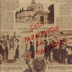 Coleccionismo de Revistas y Periódicos: MADRID 1930 SAN ISIDRO LABRADOR OCTASVO CENTENARIO HOJA REVISTA. Lote 38749629