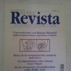 Coleccionismo de Revistas y Periódicos: NUEVA REVISTA DE POLÍTICA, CULTURA Y ARTE Nº 40. Lote 38818763