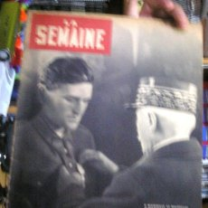 Coleccionismo de Revistas y Periódicos: REVISTA FRANCESA LA SEMAINE 12-12-1940 NUM.22. Lote 38892960