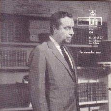 Coleccionismo de Revistas y Periódicos: CARTELERA TURIA Nº 109 AÑO 1966. FERNANDO REY. Lote 38919226