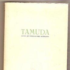 Coleccionismo de Revistas y Periódicos: TAMUDA (REVISTA DE INVESTIGACIONES MARROQUÍES) (AÑO VI SEMESTRE II). Lote 38927356