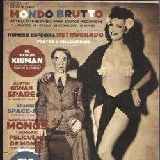 Coleccionismo de Revistas y Periódicos: MONDO BRUTTO 42. Lote 40912254