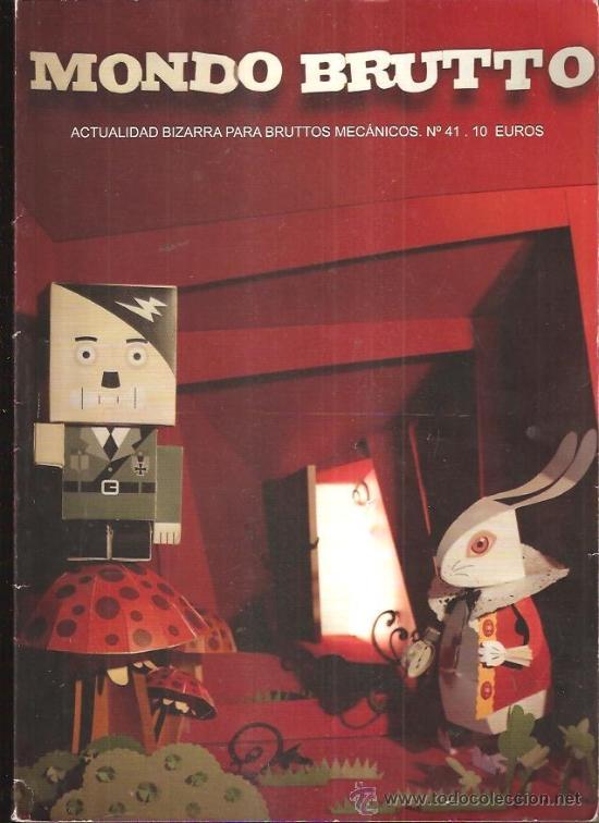 MONDO BRUTTO 41 (Coleccionismo - Revistas y Periódicos Modernos (a partir de 1.940) - Otros)