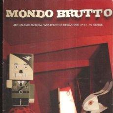 Coleccionismo de Revistas y Periódicos: MONDO BRUTTO 41. Lote 38937303