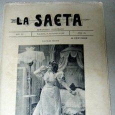 Coleccionismo de Revistas y Periódicos: LA SAETA - FOTOGRAFIAS - SEMANARIO ILUSTRADO - LA GRAN NOCHE. Lote 38959138