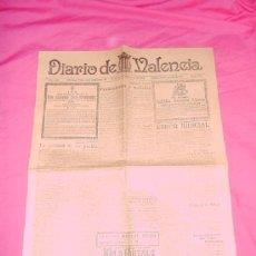 Coleccionismo de Revistas y Periódicos: DIARIO DE VALENCIA. 14 DE SEPTIEMBRE DE 1924. Lote 38995983