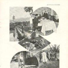 Coleccionismo de Revistas y Periódicos: VACACIONES DEL PRÍNCIPE DE ASTURIAS EN LA GRANJA Y EL PAULAR - 1926. Lote 39033915