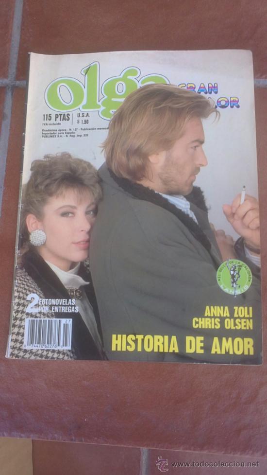 FOTONOVELA OLGA GRAN COLOR HISTORIA DE AMOR (Coleccionismo - Revistas y Periódicos Modernos (a partir de 1.940) - Otros)
