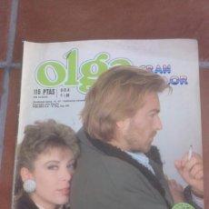 Coleccionismo de Revistas y Periódicos: FOTONOVELA OLGA GRAN COLOR HISTORIA DE AMOR. Lote 39130480