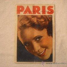 Coleccionismo de Revistas y Periódicos: PARIS MAGAZINE. Lote 39118876