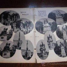 Coleccionismo de Revistas y Periódicos: REFORMAS DE MADRID 2 HOJAS DE REVISTA BLANCO Y NEGRO 1930. Lote 39126078