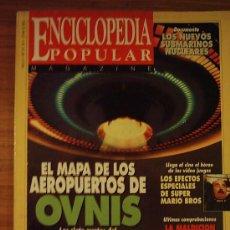 Coleccionismo de Revistas y Periódicos: ENCICLOPEDIA POPULAR AÑO 2 Nº 24 - ARGENTINA (OVNIS/ MOMIAS/ SUBMARINOS NUCLEARES) - 1993. Lote 39143046