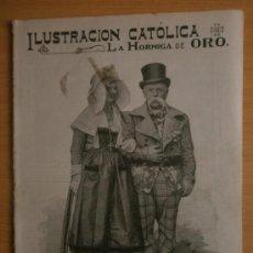 Coleccionismo de Revistas y Periódicos: LA HORMIGA DE ORO Nº52.1914.NOTAS DE LA GUERRA,LA CASA KRUPP,NANCLARES DE OCA-NUEVO COLEGIO.. Lote 199621208
