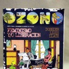Coleccionismo de Revistas y Periódicos: REVISTA, OZONO, Nº 6 DICIEMBRE DE 1975 - ENERO DE 1976, SOCIOLOGIA, ARTE, LETRAS, CULTURA. Lote 39187093