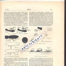 Coleccionismo de Revistas y Periódicos: REVISTA IBERICA 336 AÑO 1920 SEÑALES DE NAVEGACION AEREA REGLAS LUCES GLOBOS CAUTIVOS . Lote 39207798