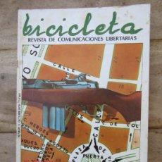 Coleccionismo de Revistas y Periódicos: BICICLETA , REVISTA COMUNICACIONES LIBERTARIAS , N. 9 - ANARQUISMO. Lote 39294516