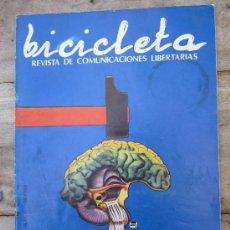 Coleccionismo de Revistas y Periódicos: BICICLETA , REVISTA COMUNICACIONES LIBERTARIAS , N.10 - 1977 - ANARQUISMO. Lote 39294767