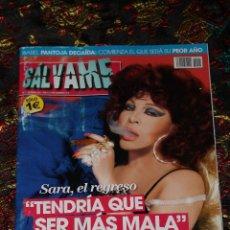 Coleccionismo de Revistas y Periódicos: REVISTA SALVAME - SARA MONTIEL. Lote 47715559