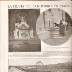 Coleccionismo de Revistas y Periódicos: AÑO1926 GRANADA CORPUS ALVAREZ QUINTERO MADRID FIESTA SAN ISIDRO CORDOBA LOS ARENALES CRUCES DE MAYO. Lote 39399462
