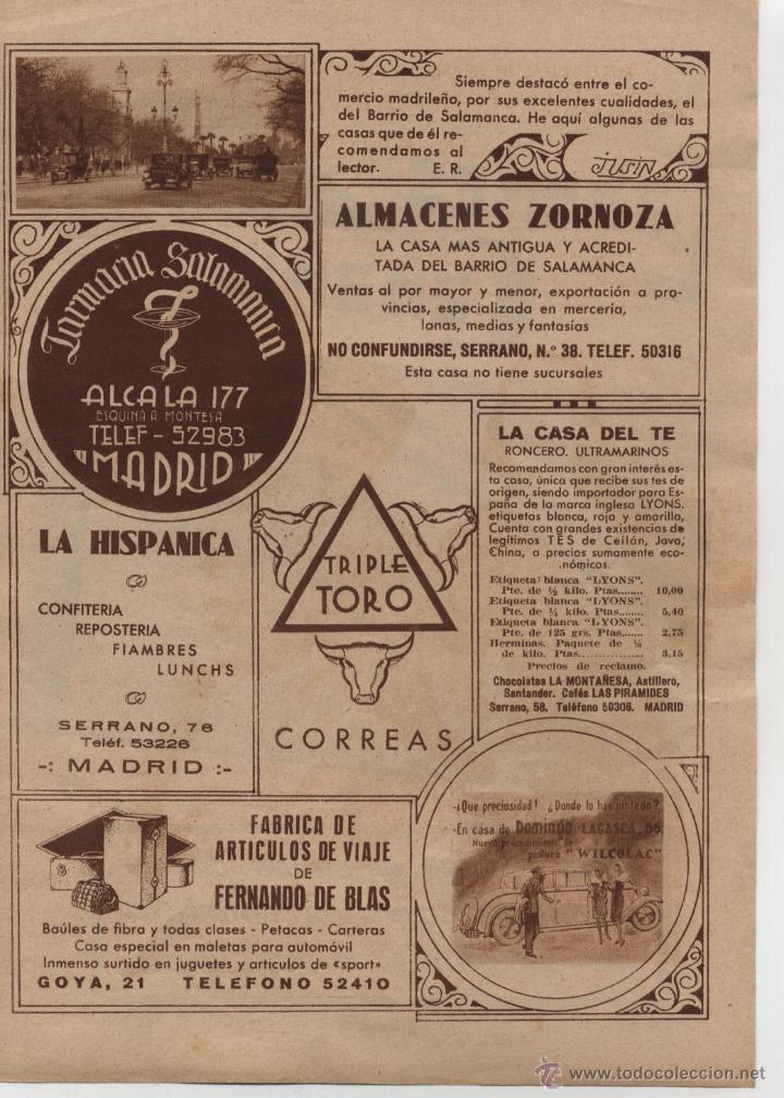 Publicidad Empresas Y Comercios De Madrid Alma Comprar Revistas Y