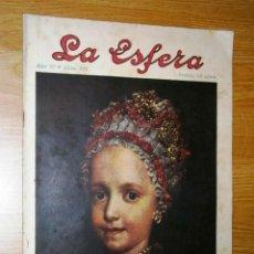 Coleccionismo de Revistas y Periódicos: REVISTA LA ESFERA Nº291 (AÑO VI) DE 26 DE JULIO DE 1919 EN MADRID. Lote 39413372
