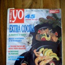 Coleccionismo de Revistas y Periódicos: MI FAMILIA Y YO - EXTRA COCINA - Nº 23 DICIEMBRE 1991. Lote 39436632