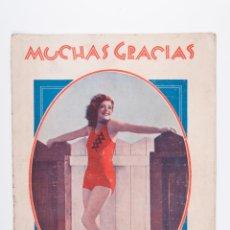 Coleccionismo de Revistas y Periódicos: REVISTA MUCHAS GRACIAS Nº 345, AÑO 1930. Lote 39449068