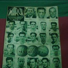 Coleccionismo de Revistas y Periódicos: MARCA, SEMANARIO GRÁFICO DE LOS DEPORTES,1939,NUMERO 37. Lote 39470935