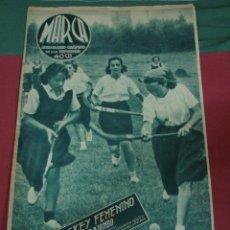 Coleccionismo de Revistas y Periódicos: MARCA, SEMANARIO GRÁFICO DE LOS DEPORTES,1939,NUMERO 31. Lote 39470968