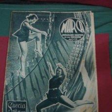 Coleccionismo de Revistas y Periódicos: MARCA, SEMANARIO GRÁFICO DE LOS DEPORTES,1939,NUMERO 30. Lote 39470985