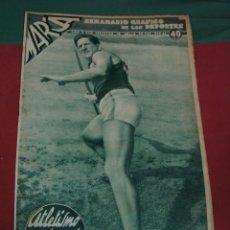 Coleccionismo de Revistas y Periódicos: MARCA, SEMANARIO GRÁFICO DE LOS DEPORTES,1939,NUMERO 23. Lote 39477149