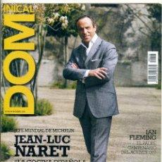 Coleccionismo de Revistas y Periódicos: REVISTA DOMINICAL EL PERIODICO Nº 296 / 2008 - JEAN - LUC NARET. Lote 39628023