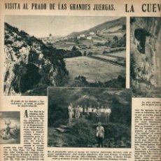 Coleccionismo de Revistas y Periódicos: AÑO 1952 CODORNIU CUEVAS DE ZUGARRAMURDI ROMERIA VIRGEN DE LA GRACIA EL ESCORIAL ATLETICO DE MADRID . Lote 39647945
