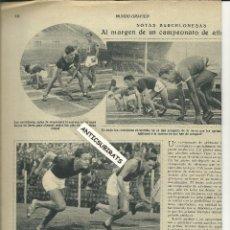 Coleccionismo de Revistas y Periódicos: REVISTA AÑO 1931 ATLETISMO BILBAO PUENTE PECASDORES EN LEQUEITIO ANCIANOS DE ARCHIDONA MALAGA. Lote 39658124